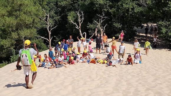 dune du pila Colonie de vacances