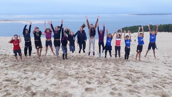 Dune du Pila stage sportif